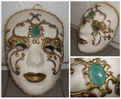 Venetian Mask by silverz777