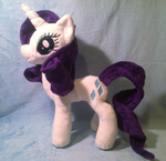 Rarity Plush by Noxx-ious