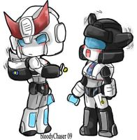 Prowl Jazz - wiggling - by BloodyChaser