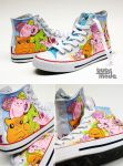 Candy Cat Chucks by Bobsmade