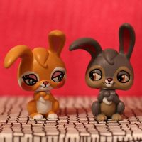 Thumper and Miss Bunny LPS customs by pia-chu