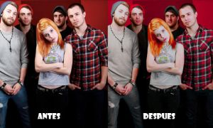 Paramore is a band Action by Dinosauuur