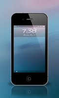 Supine Lockscreen for iPhone 4 by JDL16