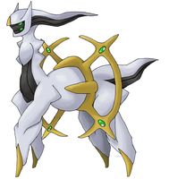 Official Pose of Arceus? by Xous54
