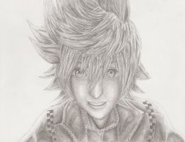 KH2: Roxas by Girl-With-Wings13