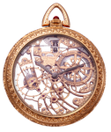 Antique Vintage Pocket Watch png by EveyD