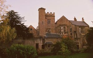 Bishop's Palace Rear. by EarthHart