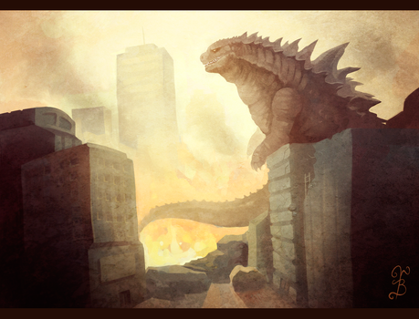 The King of Monsters by TheNecroBalam