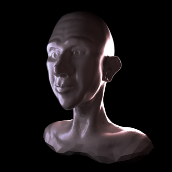 Stream 2 : Simple sculpted bust by minionofphysics