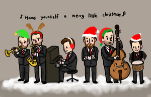 horne section xmas by dongpeiyen1000