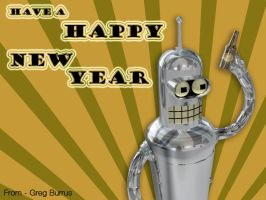 Bender New Year by G2B