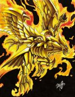 Winged Dragon of Ra by ShikoSyaoran