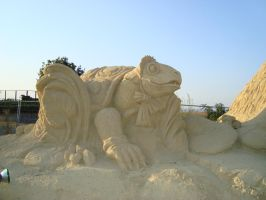 Sand art in burgas 27 by tonev