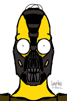 HOMER BANE SIMPSON by CoreDejour