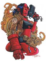 marker: Hellgirl by KidNotorious