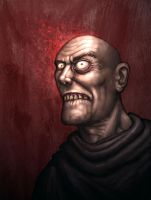 Mad Monk. by Hungrysparrow