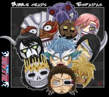 Bubble heads : Espadas by DaKroG