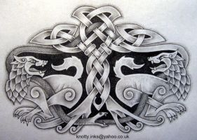 Celtic Tattoo design m1 by Tattoo-Design