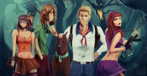 Fan Art Scooby Doo by Hyde20