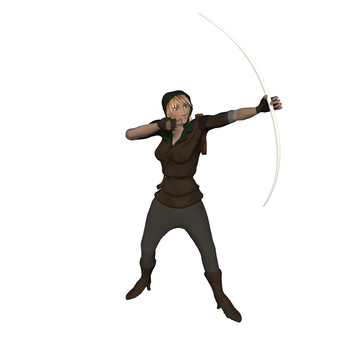 Ranger Rigged Preview by SXPanda