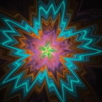 neon starburst by rsidwell