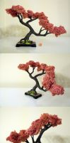 Cherry Blossom sculpture by Sheharzad-Arshad