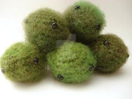 Marimo - Moss Balls by MoonYen