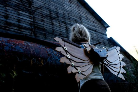 Steampunk Icarus Wings MK1 3 by steampunk22