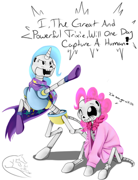 If Undertale Were Ponies by Fox-chanTheArtist