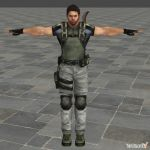 Chris BSAA Fixed Bone Names by toughraid3r37890