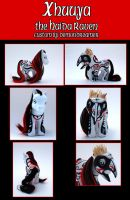 Xhuuya: Haida Raven MLP Custom by Demondreamer