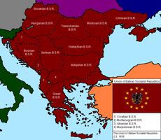 Union of Balkan Socialist Reps by Kiatofearth