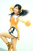 Ling Xiaoyu: Fan Dance by SakuMiyuku