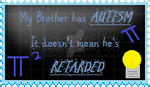 Brother with Autism Stamp by FlanHeart101