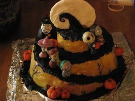 decorated cake entry by rokhead423