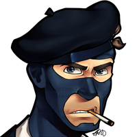 Comm - Frenchman's Beret by dust-bite