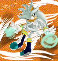 Silver the hedgehog by Ashentar