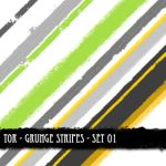 Grunge Stripes Set 01 by theonlyremedy