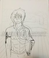 Sketch Art: FMA OC - Thanos by AnimeEmm