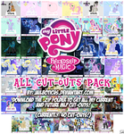 ALL MLP Cut-Outs v4 by Jailboticus