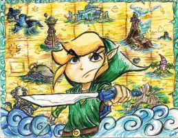 Link The Hero of Winds by ThatJuanArtist