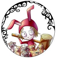 Little Bunny Foofoo by Alarimaa