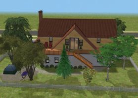 Sims 2 Vacation home by RamboRocky