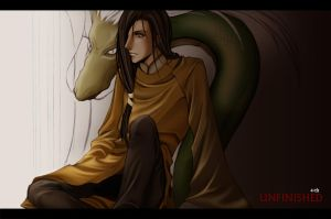 Chinese guy with Dragon by 4-th