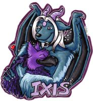 Ixis Badge by hollyann