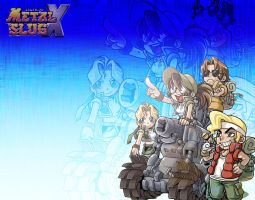 Metal Slug X Wallpaper :3 by subotaix08