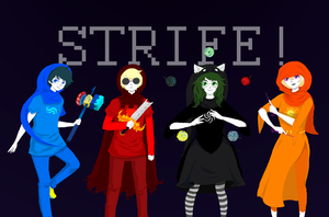 Beta STRIFE! by sanki-chan