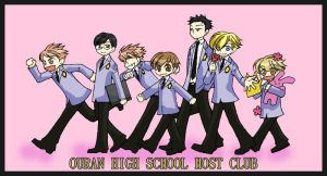 Chibi Ouran Host Club by Soubi-sensei