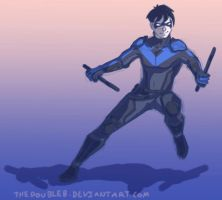 Nightwing by TheDoubleB