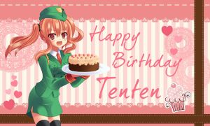 Happy Birthday Tenten by Hokage3